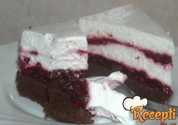 Torta sa malinama (2)