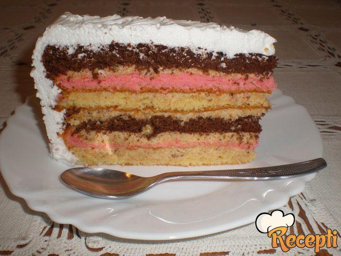 Zebra Torta Recept