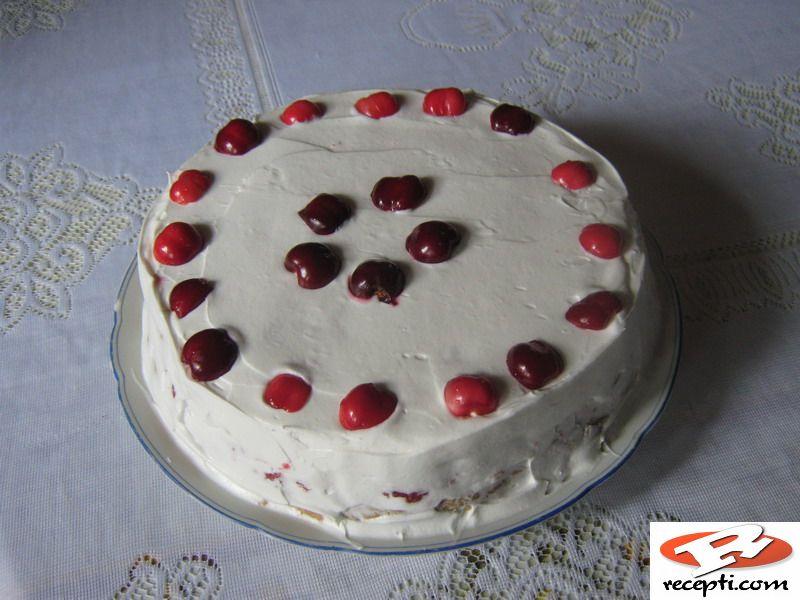 Zdrava voćna torta
