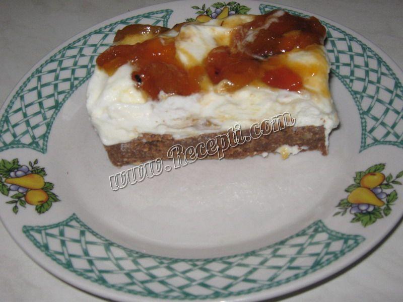 Torta sa sirom i kajsijama