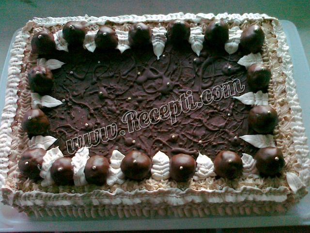 Čoko-nugat torta