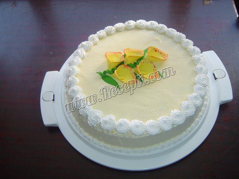 Vanila krem torta