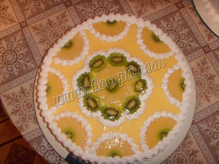 Torta od kivija i ananasa