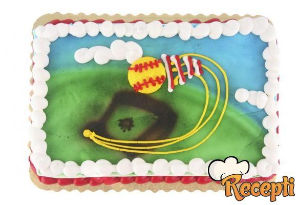 Voćna torta sa bananama