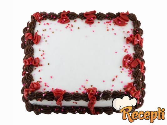 Kakao kutlača torta