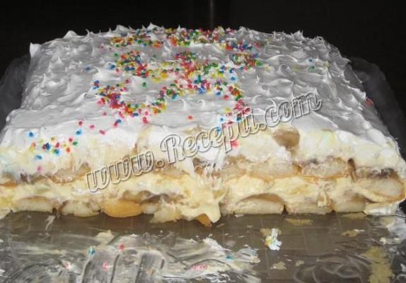 Voćna torta sa piškotama (2)
