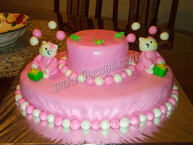 Brza torta sa turskim keksom