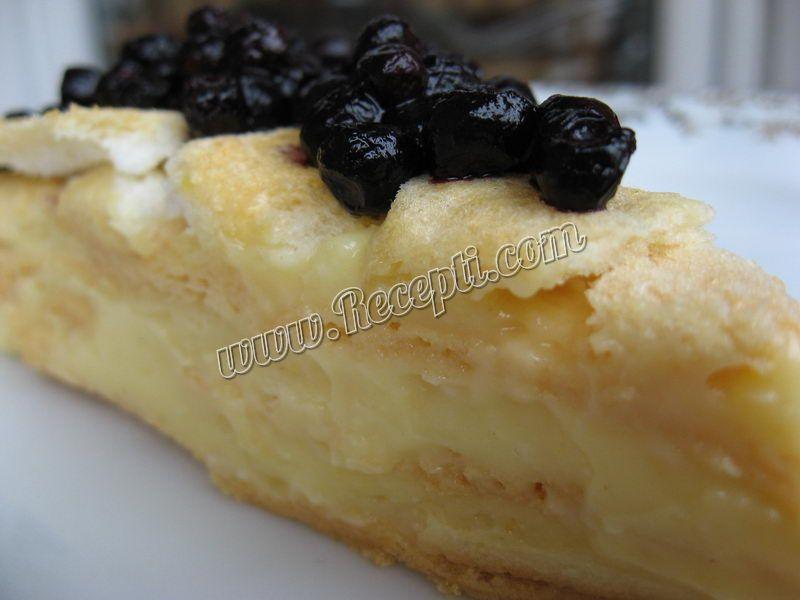 Torta od bele čokolade i borovnice