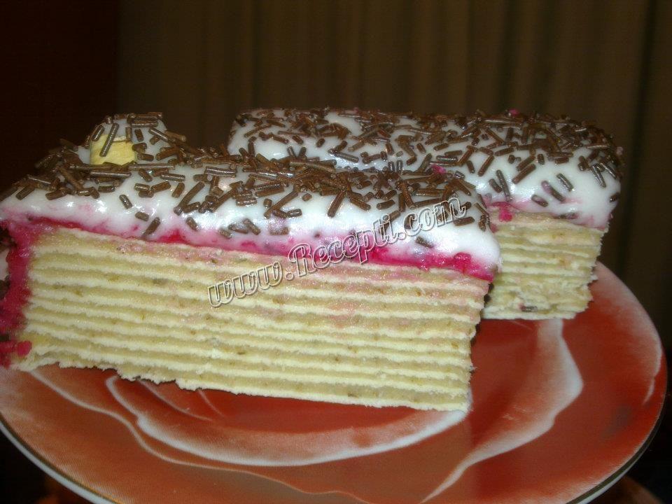 Rozen torta na moj način