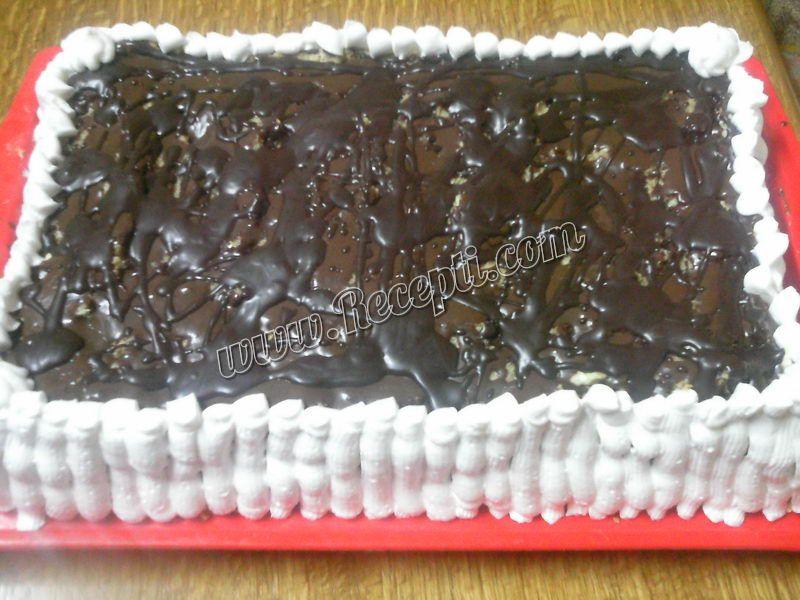 Posna šljunak torta