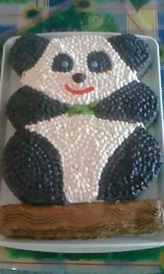 Panda torta