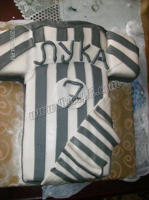 Partizanov dres torta