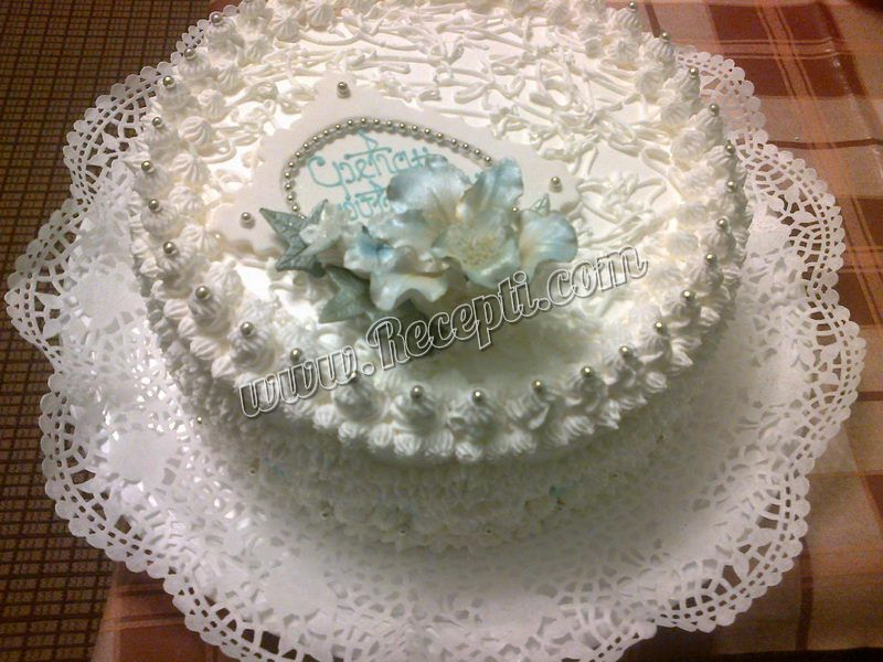 Bela lešnik torta