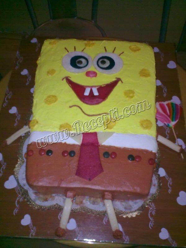 Sunđer Bob - Torta sa višnjama