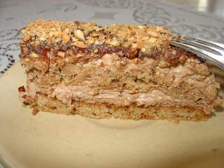 Posna torta sa čokoladom i kikirikijem