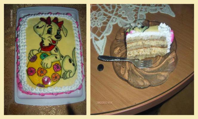 Esterhazi torta na moj način
