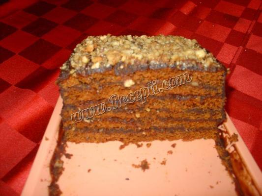 Posna grilijaš torta