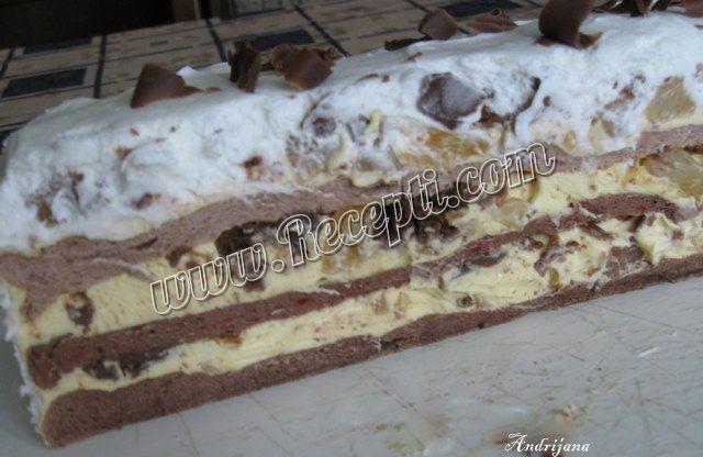 Torta sa čokoladnim ananasom