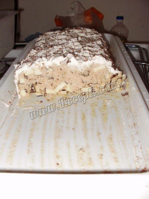 Brza torta sa čokoladnim bananicama