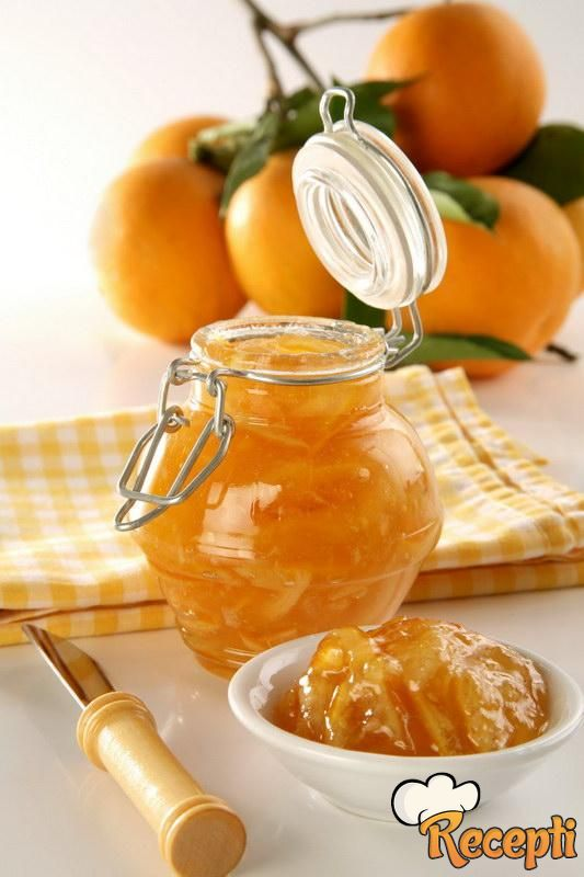 Džem od pomorandži i limuna