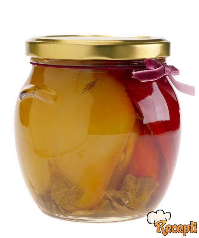 Barena paprika u sirćetu i ulju