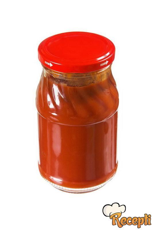 Kečap sa pečenim paprikama