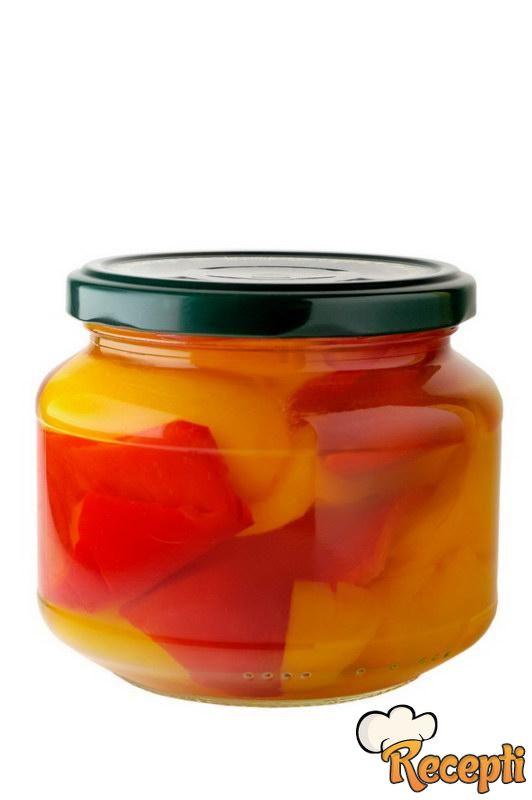 Kisele paprike (žute babure)