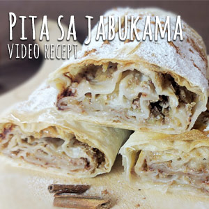Pita sa jabukama - Recepti.com - Video Recept