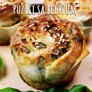 Pužići sa blitvom - Video Recept