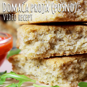 Domaća proja (posno) - Video Recept