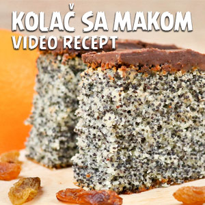Kolač sa makom - Video Recept