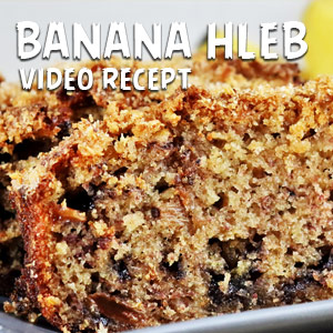 Banana hleb - Video Recept