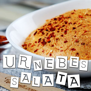 Urnebes salata - Video Recept