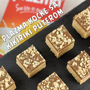 Plazma kocke sa kikiriki puterom - Video Recept