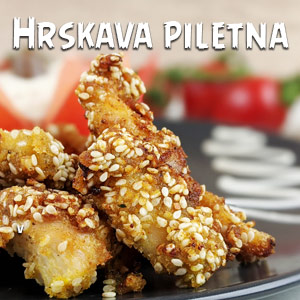 Hrskava piletina - Video Recept