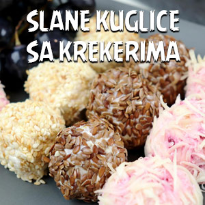 Slane kuglice sa krekerima - Video Recept