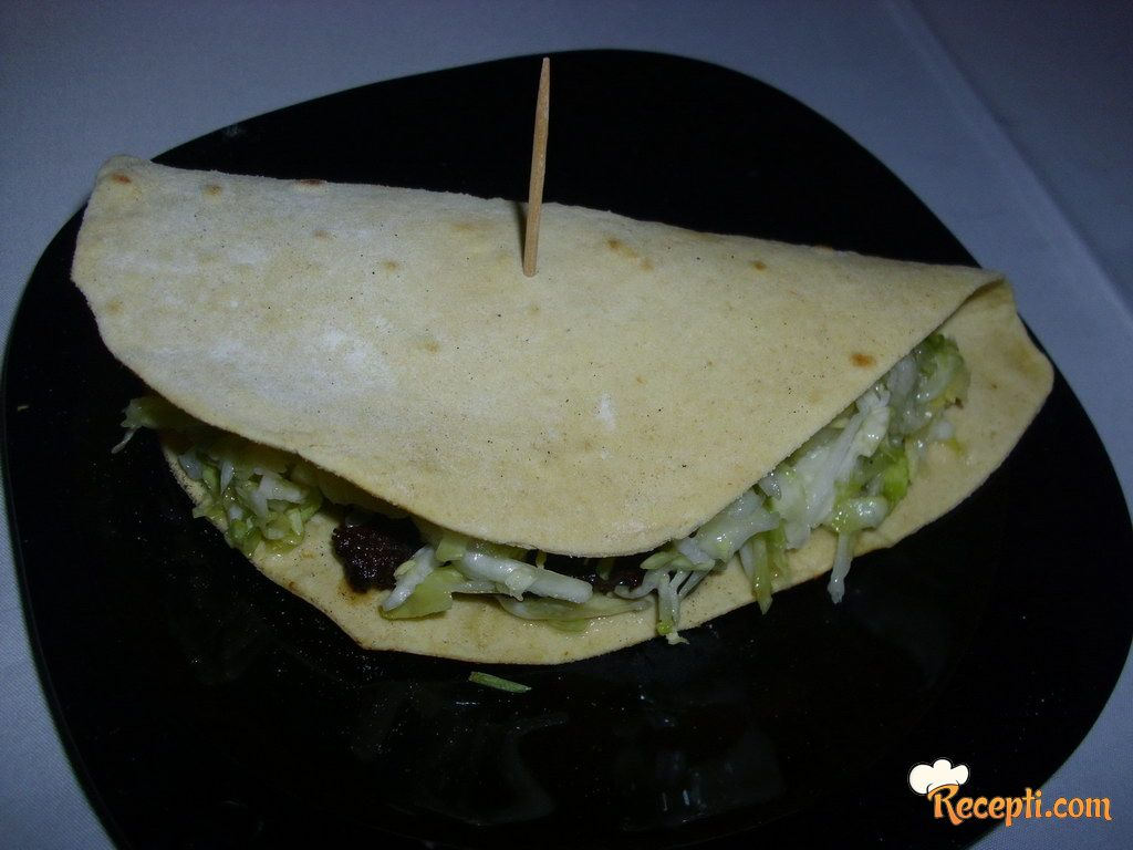 Domaće kukuruzne tortilje