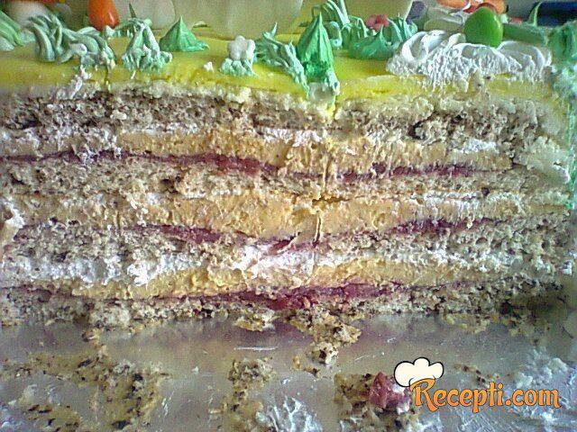 Voćna torta (jagode)