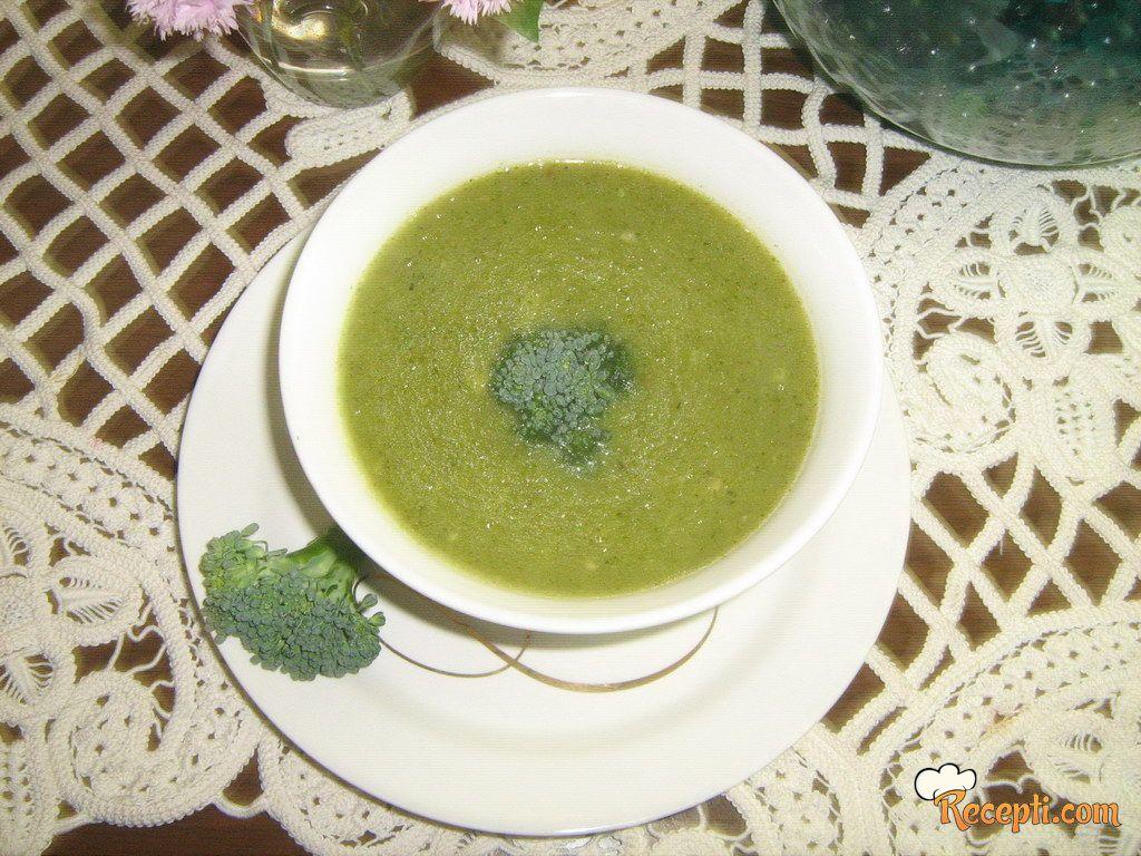 Krem-supa od brokolija