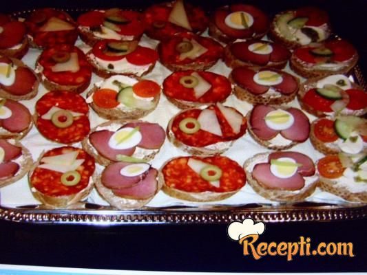 mali sendviči za rođendan Mini sendviči   Recepti.com mali sendviči za rođendan