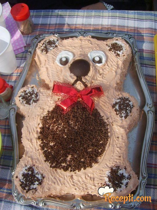 Bajadera torta (meda)