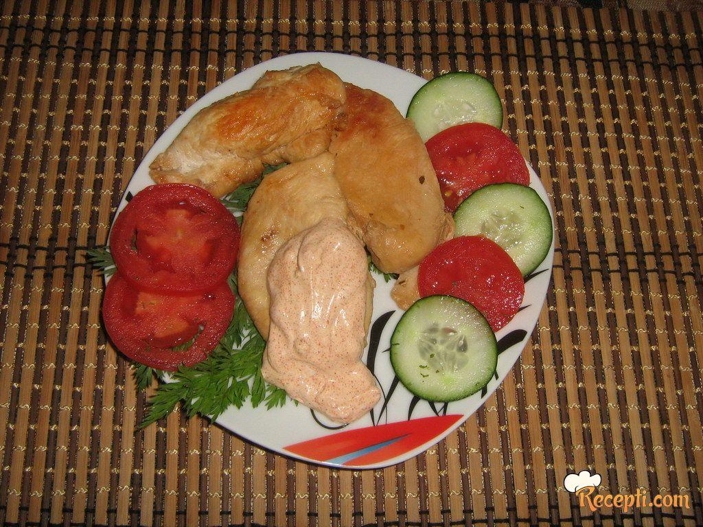 Lagana piletina sa umakom