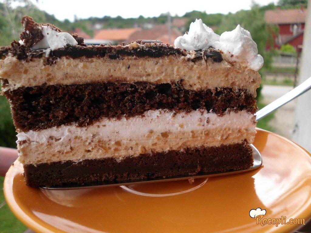 Čoko-karamel torta