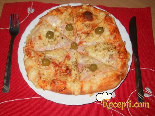 Pizza na moj način