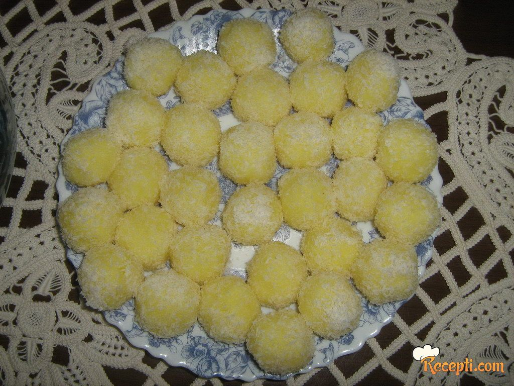 Puding kuglice