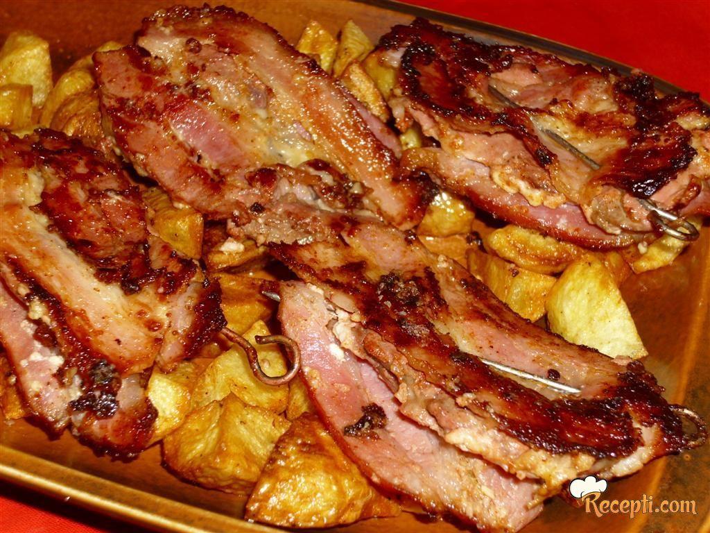 Džigerica u slanini