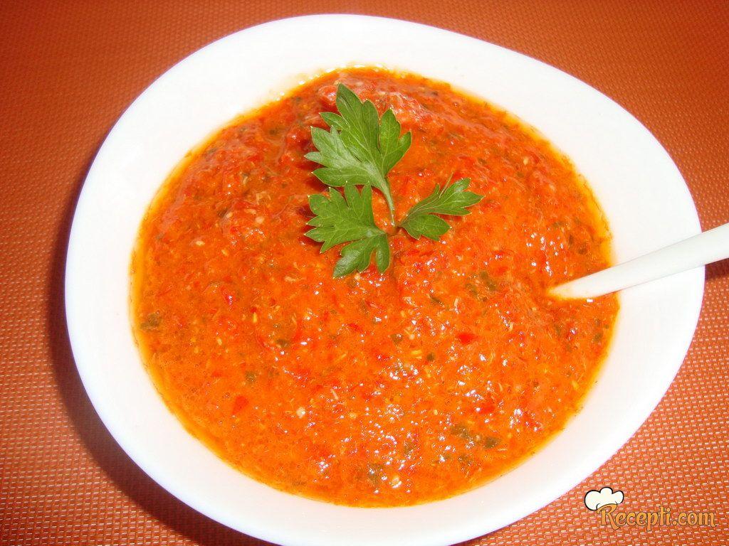 Sos od crvenih paprika