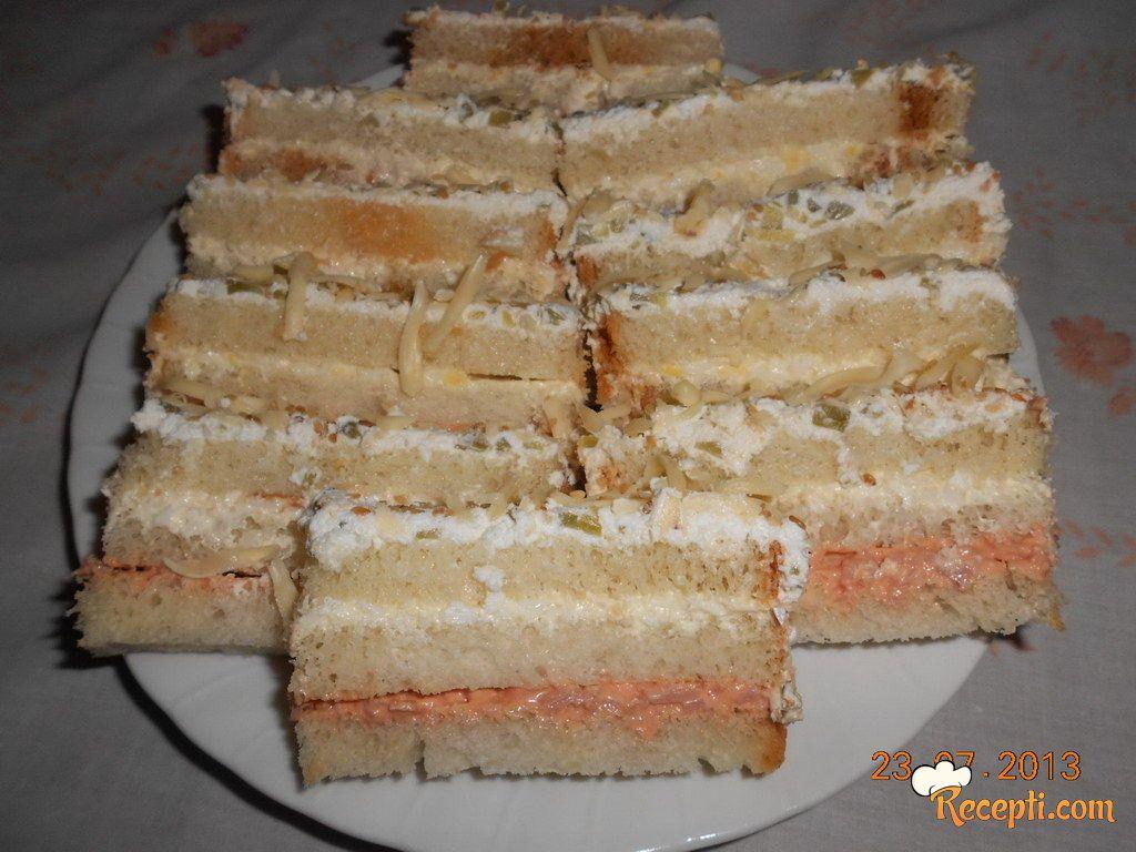 Slana torta sa tost hlebom (3)