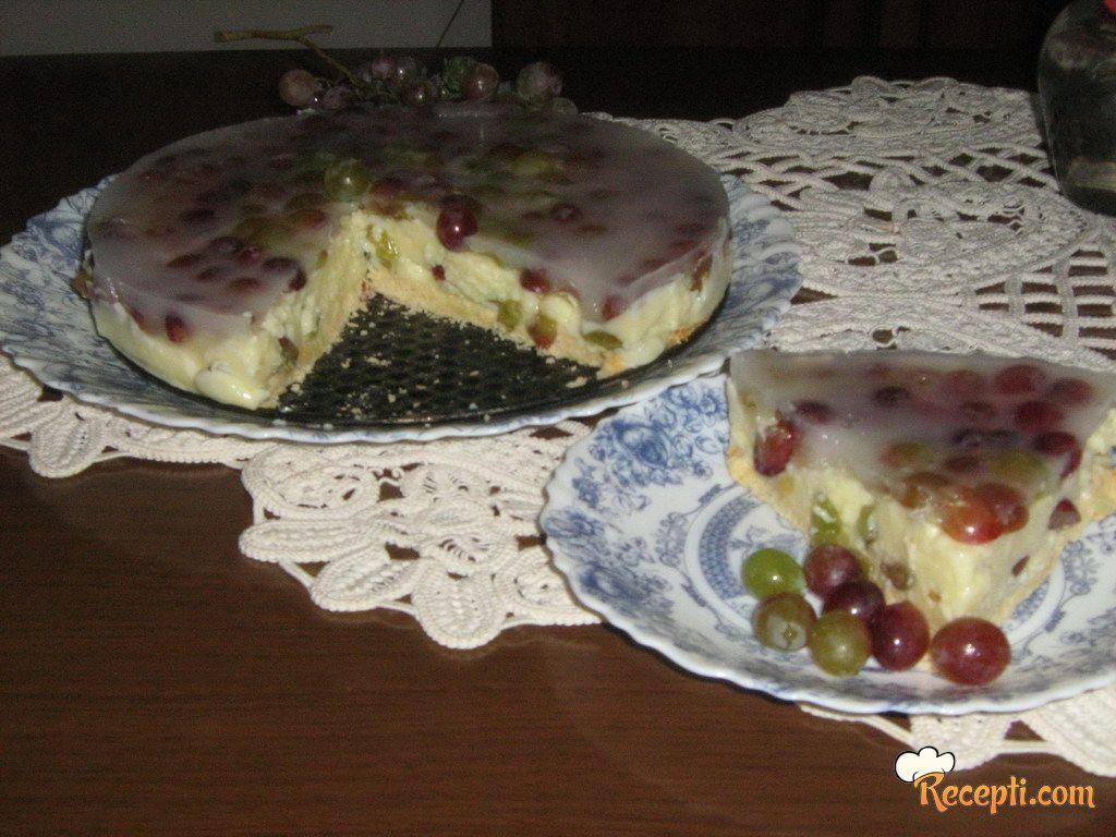 Tart od grožđa