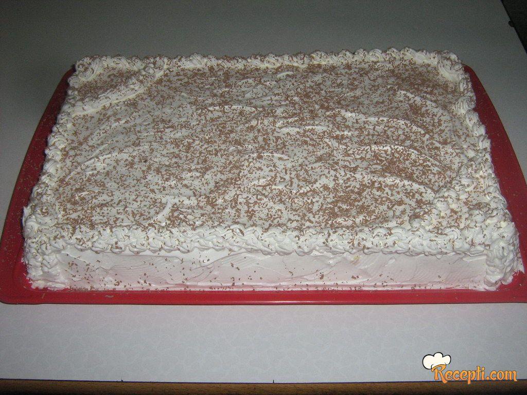 Torta sa krem bananicama (5)